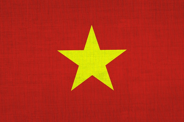 National flag cotton of vietnamese