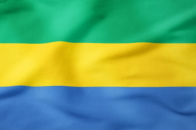 National flag of gabon