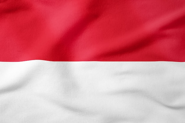 National flag of indonesia - rectangular shape patriotic symbol