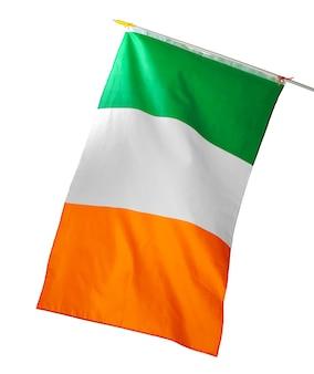 흰색 절연 아일랜드의 국기