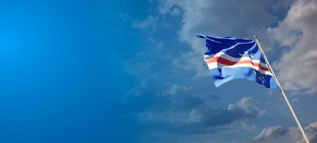 Национальный государственный флаг кабо-верде