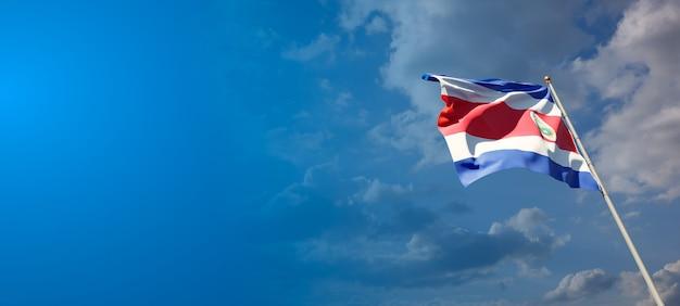 Национальный государственный флаг коста-рики