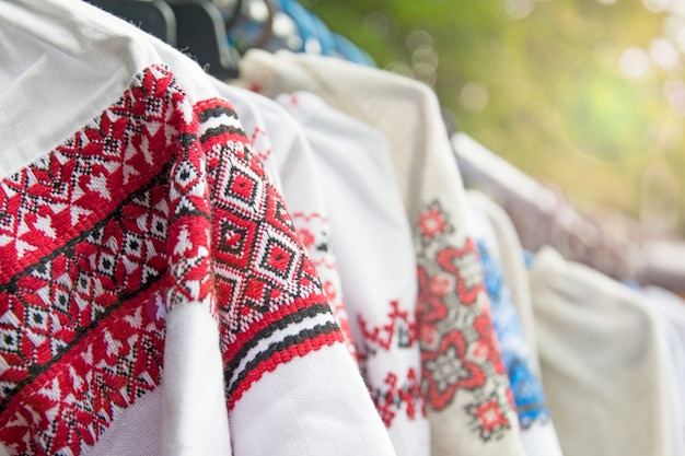 National ukrainian women's outerwear.
