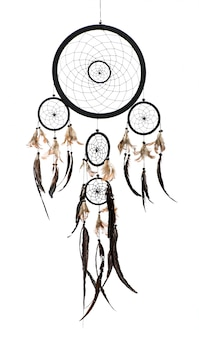 Native american indian dreamcatcher