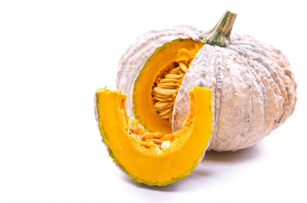Native pumpkin for cooking