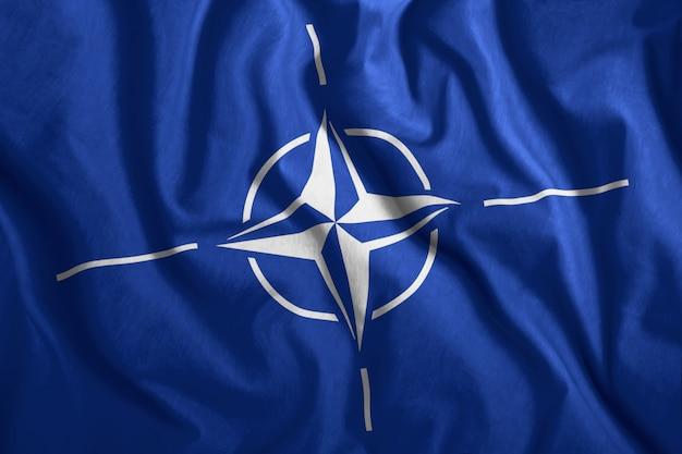 Natoのカラフルな旗