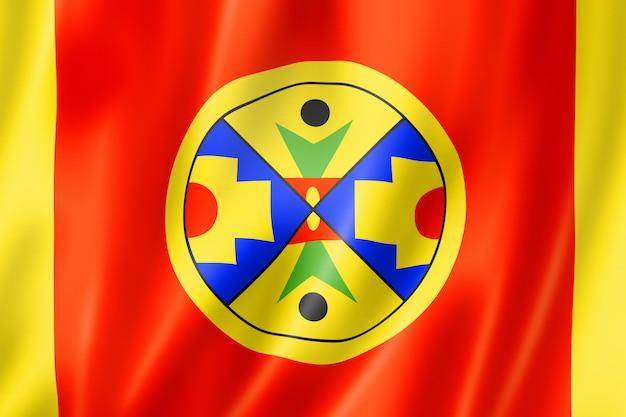 Natuaqanek people ethnic flag, canada