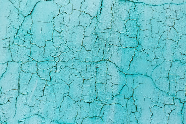 질감 된 파란색 금이 간된 벽의 자연 추상적 인 배경.