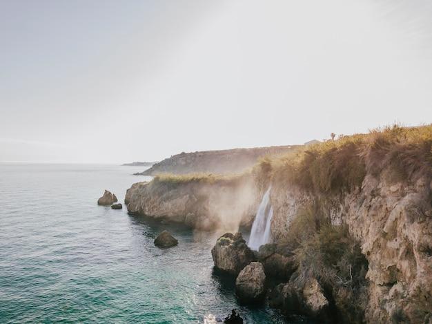 Natural beach background