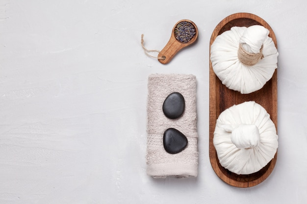 Natural body care and spa concept