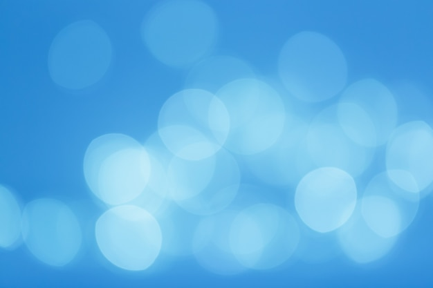 Natural bokeh lights, christmas or new year blurred background