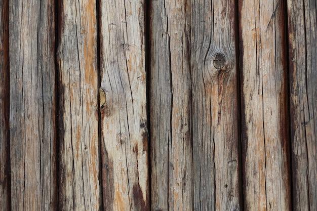 自然な茶色の木の質感。クローズアップショット