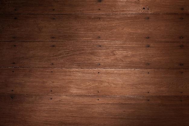 自然な茶色の木目テクスチャ壁