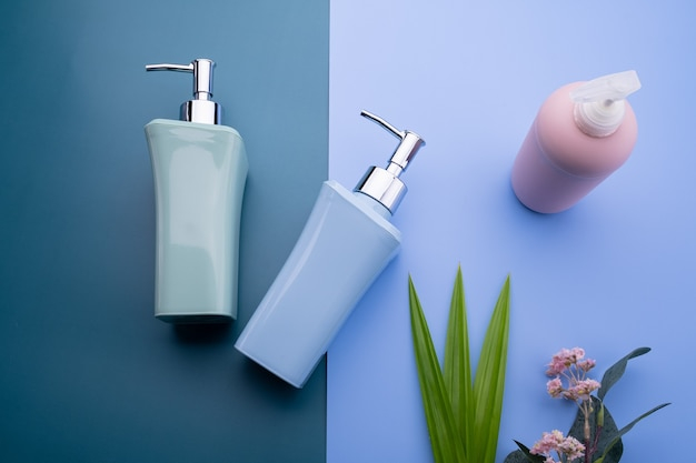 Natural cosmetic bottle containers