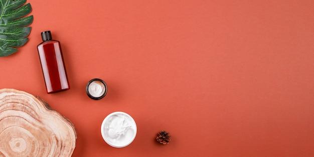 Натуральные косметические продукты плоская планировка