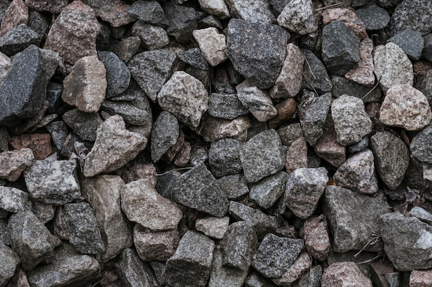 Natural crushed stones
