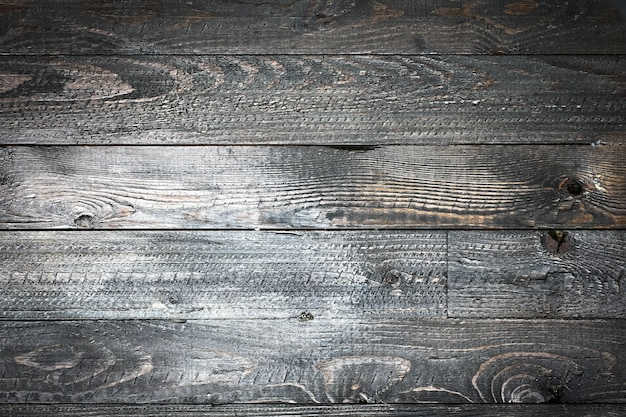 Natural dark wooden, old dirty wood tables