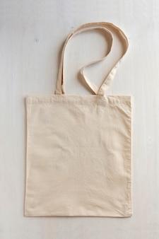 Natural fiber neutral re-usable shopping bag