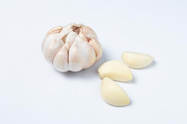 Natural garlic asian specie