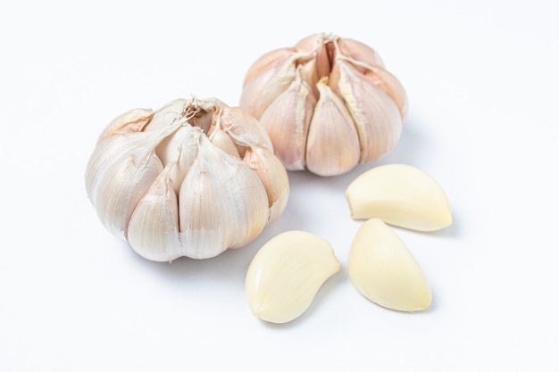 Natural garlic asian specie