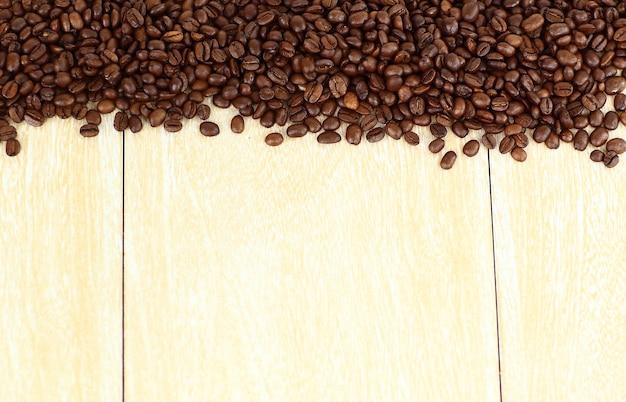 Натуральное зерно кофе.