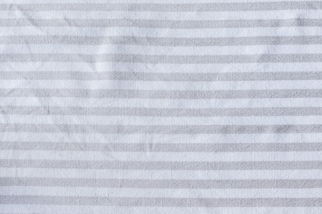 Natural gray striped linen fabric texture