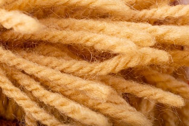 天然麻繊維ロープの背景