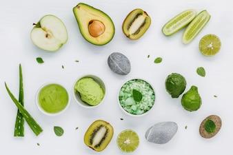 Natural herbal skin care ingredients