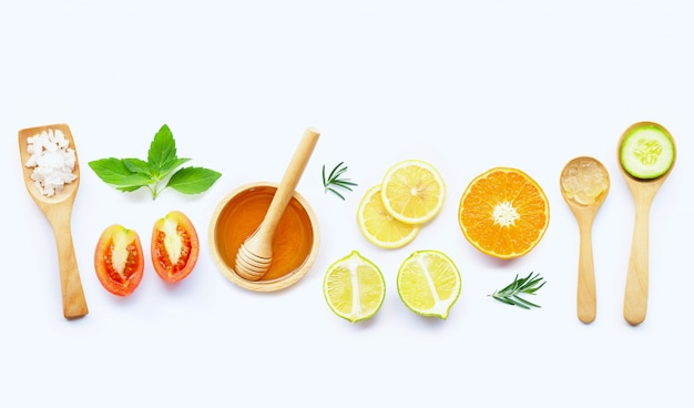Natural ingredients for homemade skin care