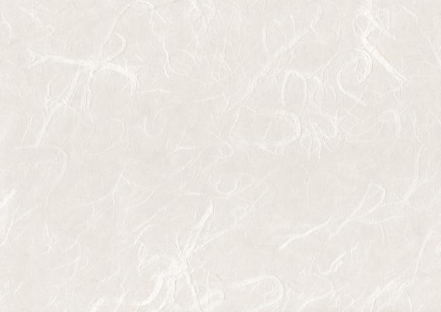 天然の日本の再生紙のテクスチャー表面