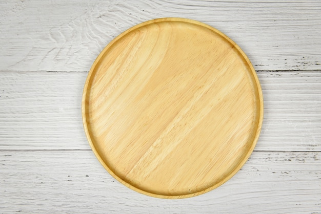 Natural kitchen tools wood products  kitchen utensils  with wooden plate