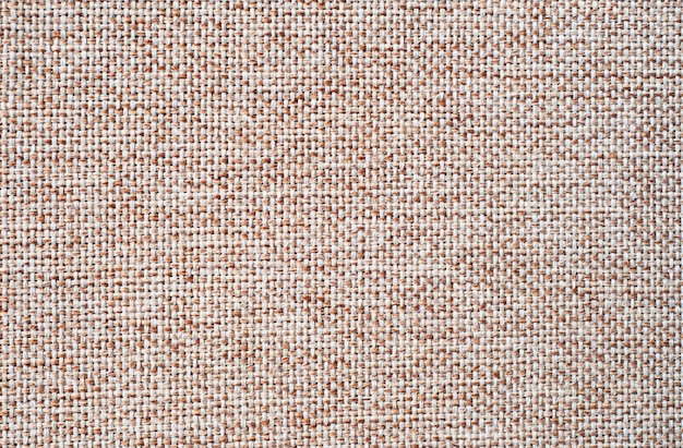 Natural linen background. burlap or canvas fabric texture with detailed structure