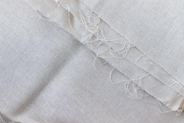 Natural linen fabric texture