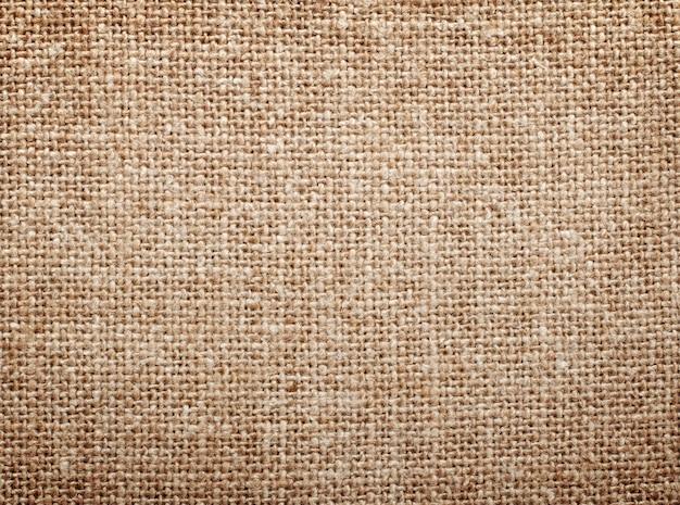 Текстура натурального льна крупным планом