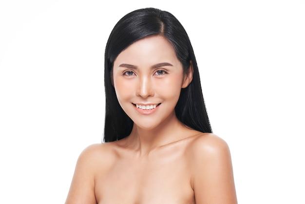 Natural look, asian woman, facial treatment , cosmetology, beauty treatment.