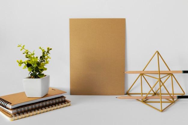 天然素材の文房具の構成