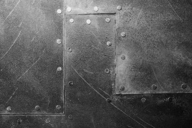 傷のある天然金属の背景