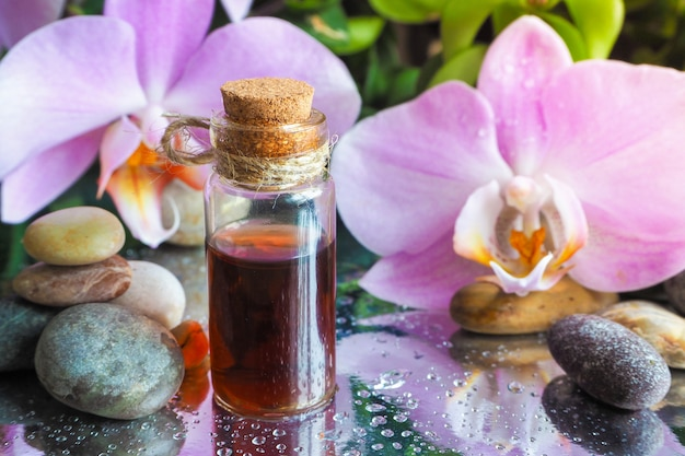 Natural oil for relaxation and bliss. traditional arabic incense