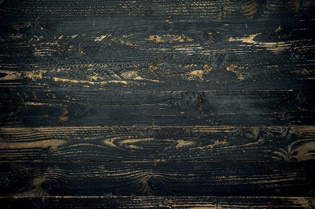 텍스트, 그래픽 디자인을 추가하고 제품 배경을 표시하거나 몽타주하기 위한 천연 오래된 검은색 나무 질감.