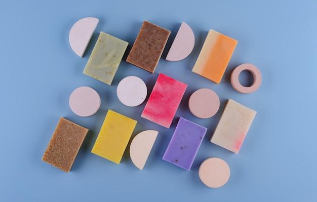 Концепция ухода за кожей натурального органического мыла