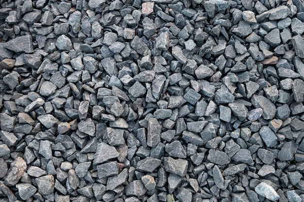 Natural pebble stone rock ground surface texture