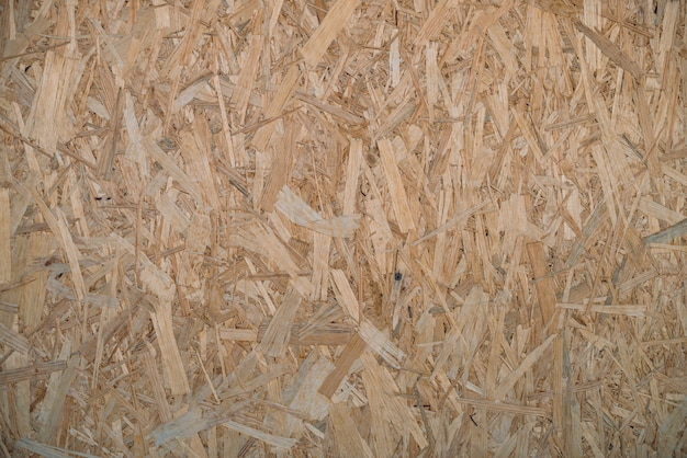 Natural pressed sawdust close-up.