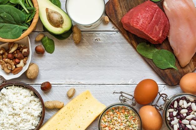 ビタミンb6とタンパク質が豊富な天然物