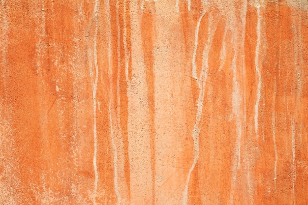 Natural red clay earth wall background texture