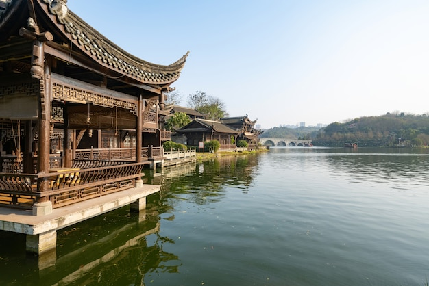 Natural scenery of chongqing garden expo, china