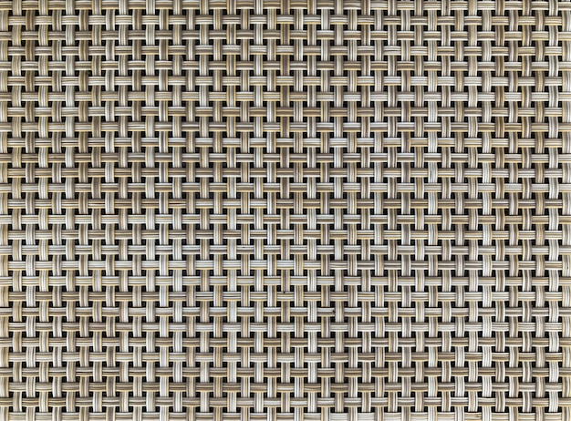 Natural slim bamboo wood weaving texture surface background.