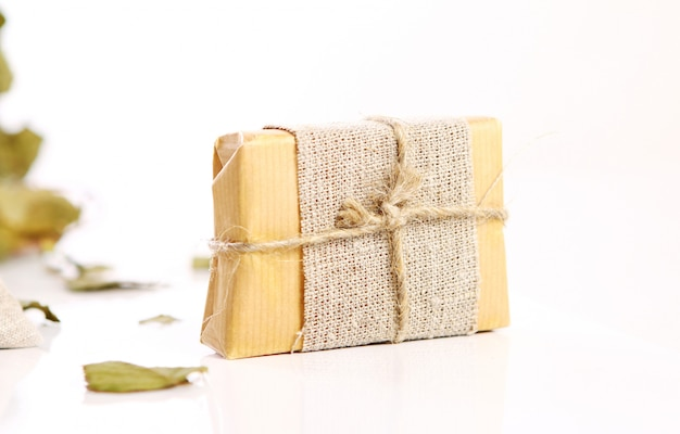 Natural soap with rope
