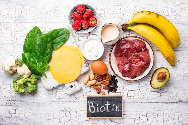 Natural sources of vitamin b7 biotin