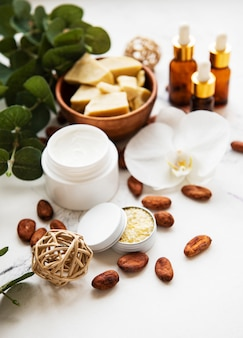 Natural spa ingredients