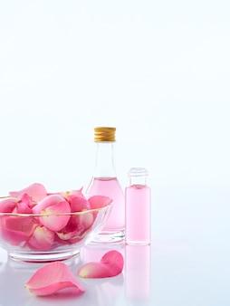 ローズと香りのキャンドルポプリの天然スパセット